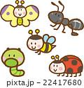 昆虫イラスト素材セット 22417680