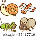 昆虫イラスト素材セット 22417719