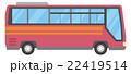 観光バス【乗り物・シリーズ】 22419514