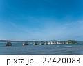 優美な形の能登島大橋 22420083