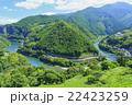 仁淀川と山並み 22423259