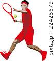 テニス テニスプレイヤー スポーツのイラスト 22425679