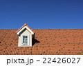瓦屋根と青空 22426027