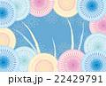 ポストカード 花火 打ち上げ花火のイラスト 22429791