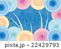 ポストカード 花火 打ち上げ花火のイラスト 22429793