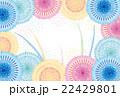 ポストカード 花火 打ち上げ花火のイラスト 22429801