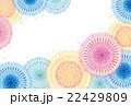 ポストカード 花火 打ち上げ花火のイラスト 22429809