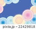 ポストカード 花火 打ち上げ花火のイラスト 22429818