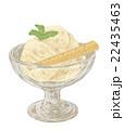 お菓子 冷菓 アイスクリームのイラスト 22435463