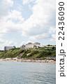 青空と雲とビーチ 22436090