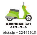 スクーター【乗り物・シリーズ】 22442915