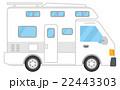 キャンピングカー【乗り物・シリーズ】 22443303
