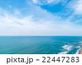 匝瑳市野手浜海水浴場付近を空撮 22447283