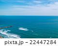 匝瑳市野手浜海水浴場付近を空撮 22447284