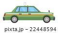 タクシー【乗り物・シリーズ】 22448594