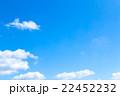 空 青空 白い雲の写真 22452232