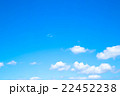 空 青空 白い雲の写真 22452238