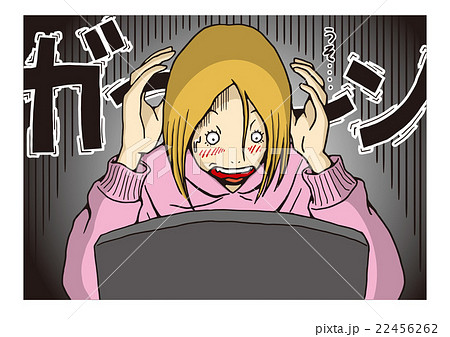 〝リベンジポルノ〟のイメージイラスト 22456262