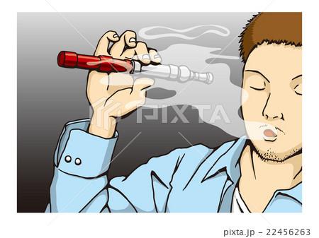 〝電子タバコ〟のイメージイラスト 22456263