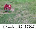 赤い象の遊具 22457913