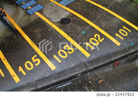 駐輪場の番号 22457922