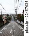 住宅街の急な坂 22457926