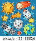 微笑み ベクトル 衛星のイラスト 22466620