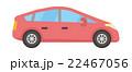 コンパクトカー 乗り物 車のイラスト 22467056