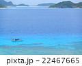 海 ケラマブルー 風景の写真 22467665