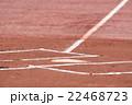 野球のホームベース 22468723