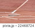 野球のホームベース 22468724