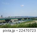 枚方大橋から望む枚方市街 22470723