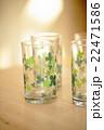 クローバー柄のグラス 22471586