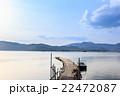 桟橋 風景 湖の写真 22472087
