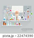 Professor Working on Medical Laboratory. 22474390