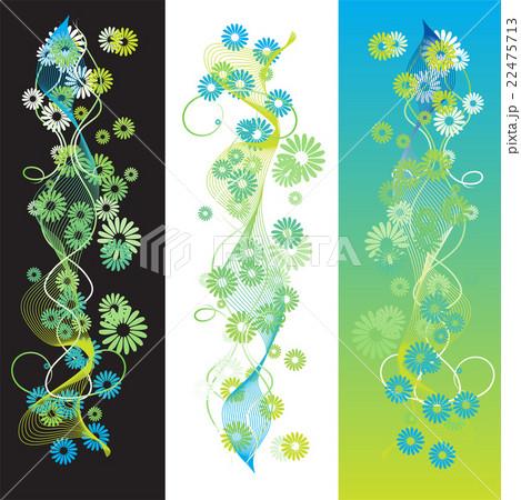 Abstract summer background, retro scrollのイラスト素材 [22475713] - PIXTA