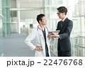 タブレット 医者 営業の写真 22476768