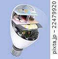 LED電球にあるくらしのコンセプトイメージ 22479920