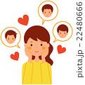 恋多き女性 22480666