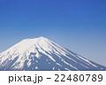 富士山 火山 活火山の写真 22480789