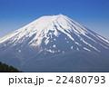 富士山 火山 活火山の写真 22480793