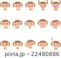 表情 ベクター 感情のイラスト 22480886