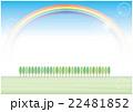 並木と虹 22481852