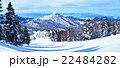 スキー場 横手山 冬の写真 22484282