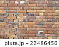 レンガ 壁 背景素材の写真 22486456