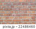 レンガ 壁 背景素材の写真 22486460