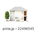 一戸建て 建物 家のイラスト 22496545