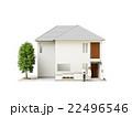 一戸建て 建物 家のイラスト 22496546