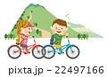サイクリングする男女 その1 22497166