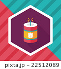 Chinese New Year flat icon, eps10, Chinese festival couplets wit 22512089